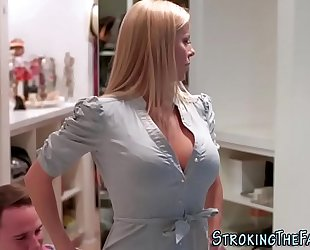 Milf stepmom sperm faced