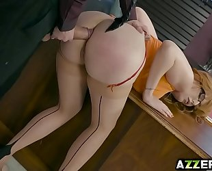 Busty lauren phillips likes fucking with her boss
