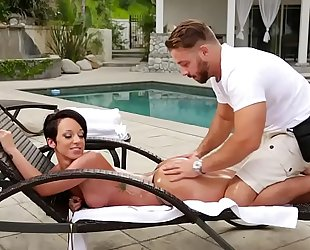 Fake masseur and a arse white wife