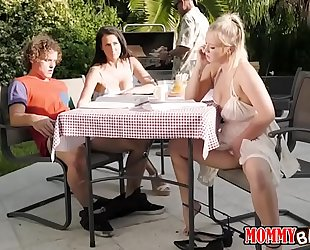 Bailey brooke and reagan foxx trio