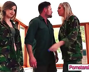 Sexy pornstar (lexi lowe & stella cox) ride hard style a large lengthy hard wang on web camera video-17