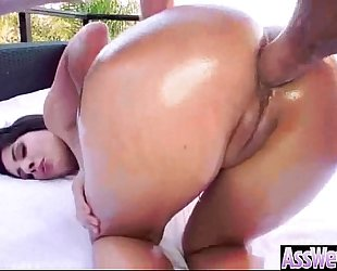 Anal hardcore sex tape with whore large curvy arse white bitch (jynx maze) vid-20