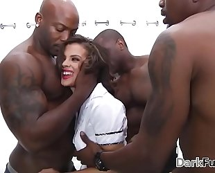Brutal monster schlong anal group sex - keisha grey