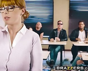 Brazzers.com - large wobblers at school - the substitute bitch scene starring penny pax and jessy jones