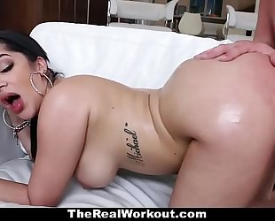 Teamskeet - sexy cuban sweetheart copulates trainer