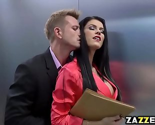 Peta jensen sucks bill baileys large schlong unfathomable mouth