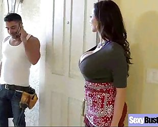 Hard style sex on tape with large melon pantoons sexy mamma (ariella ferrera) movie-02