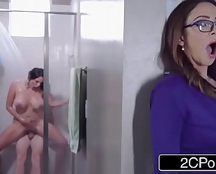 Stepmom and her sister fight over large schlong - ariella ferrera, missy martinez