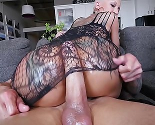 Bangbros - a short-haired bella bellz receives anal for her big gazoo