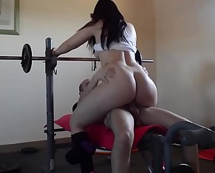 Pamela working out and getting screwed. jav246