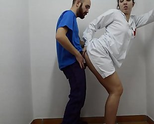 Nurse doing 1st assist on penis