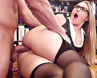 Aj applegate breathtaking doxy with glasses