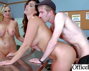 Office large wobblers horny white wife (alison tyler & julia ann) realy love hard baning clip-02