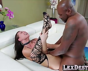 Lovely develish aidra fox receives drilled hard by lexington steele