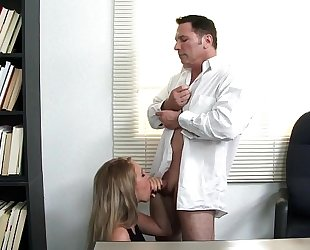 Sexy employee harley jade will do everything for raise hd