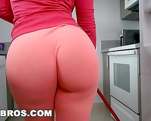Bangbros - rose monroe is a lascivious lalin white women maid with big arse and big pointer sisters