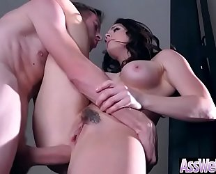 Big wazoo oiled dirty slut wife (chanel preston) love hard anal sex mov-16