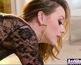 Big wazoo slutty wife (chanel preston) acquire oiled all over and anal nailed video-07