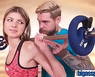 Girly buddies tempt gym instructor(cristal caitlin & gina gerson) 01 mov-13