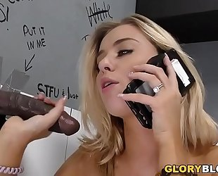 Cheating haley reed copulates dark ramrod - gloryhole