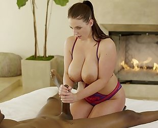 Blacked 2 charming cuties share a large dark schlong