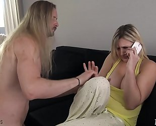 Mom acquires drilled by sleepwalking son - fifi foxx & jock ninja