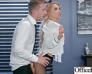 (alix lynx) excited white wife with large milk sacks acquire sex in office clip-02