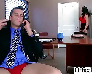 Sex in office with large round melons slutwife (sybil stallone) video-28