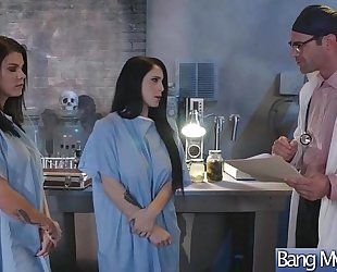 Gorgeous whore patient (noelle easton & peta jensen) entice and group-sex with doctor mov-24