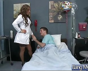 Hardcore sex treat from doctor acquire hot sexy patient (richelle ryan) movie-26
