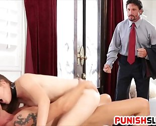 Nickey huntsman acquires caught and dp fuck
