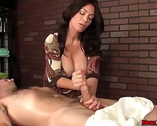 Sexy big-titted slutwife dick treatment
