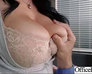(jayden jaymes) office horny white wife with large love muffins gangbang in hard style act vid-24
