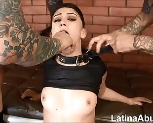 (new) mandy muse returns to receive throated, a-hole drilled and dpd