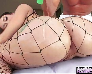Hard unfathomable anal sex on web camera with large ass oiled floozy wife (mandy muse) clip-22