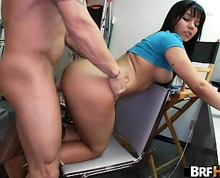 Big a-hole lalin girl rose monroe 1st casting scene 2.4