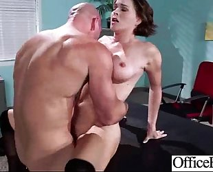 (krissy lynn) round large zeppelins housewife acquire sex in office mov-26