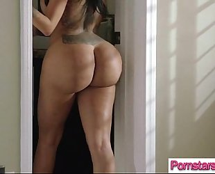 Sexy sexy pornstar (lela star) love and have a fun large lengthy hard 10-Pounder video-16