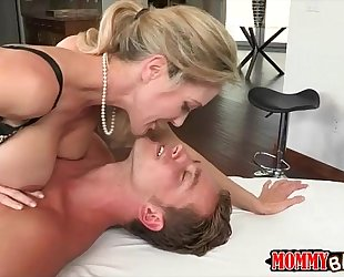 Big bazookas milf brandi love naughty threeway